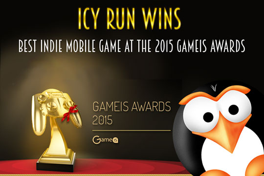Icy Run: Best Indie Mobile Game for 2015