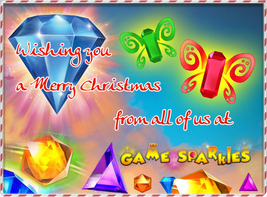 Merry Christmas and a Happy New Year from Gamesparkles