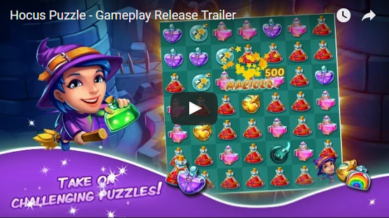 Hocus Puzzle is Going Global on May 26th