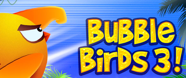 Bubble Birds 3 - Match up the birds in this free Facebook Bubble Game.