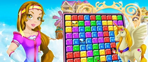 Rainbow Rush - Match The Cubes In A Wonderful Fantasy World