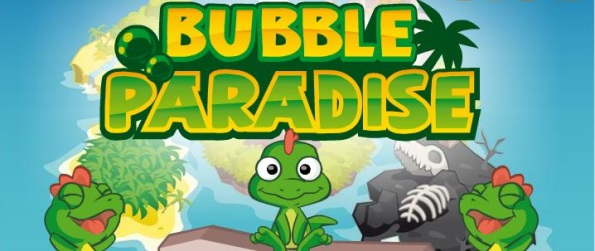 Bubble Paradise - Save The World From The T-Rex!
