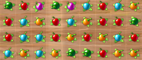Pepper Bomb - Knock out the evil farmer in this fun match 3 game on Facebook.