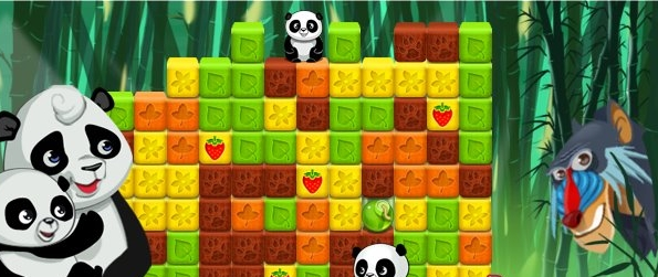 Panda Jam - Break Cubes & Free Cute Pandas!