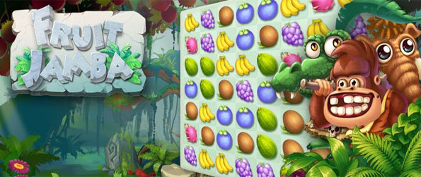 Fruit Jamba - Match the gorgeous fruits and get huge bonuses in this amazing match 3 game.