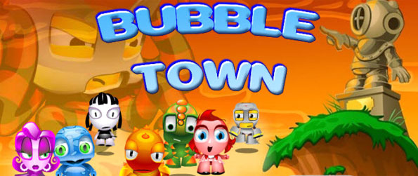 Bubble Town - Enjoy fun bubble action and save the town of Borb Bay.
