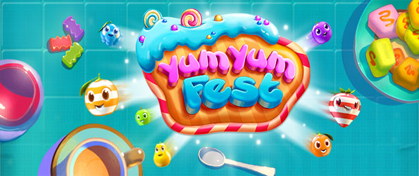 Yum Yum Fest - Enjoy a gorgeously cute match 3 game free on Facebook.