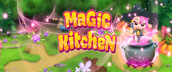 Magic Kitchen - Enjoy a simply stunning match 3 game on Facebook.