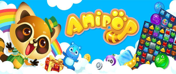 Anipop - Match cute animals together in a fabulous new Facebook game.