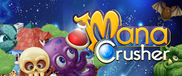 Mana Crusher - Collect Mana and crush your opponents in this amazing match 3 game.