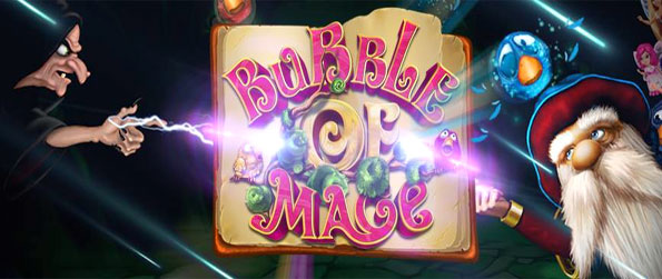 Bubble of Mage - Enjoy a fun bubble shooter where you choose your side or swap between them.