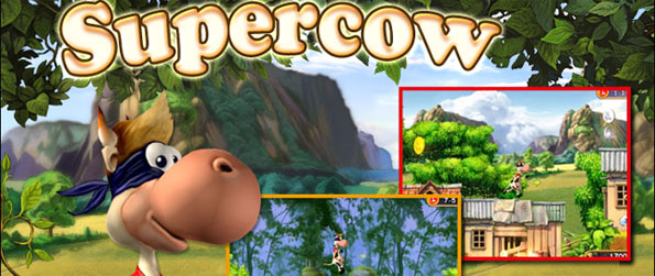 Supercow - Enjoy a classic platform game with a farm twist.