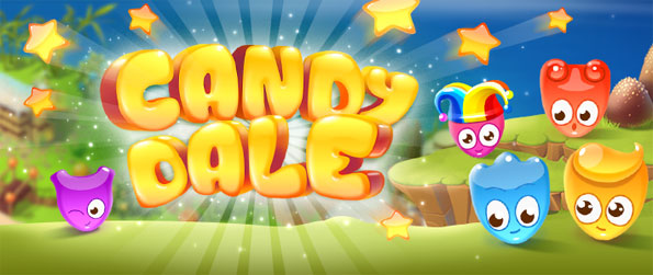 Candy Dale - Enjoy the sweetest new swiping match 3 game on Facebook.