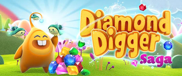 Diamond Digger Saga - Enjoy a new twist on the classic match 3 game with this latest release from King Games.