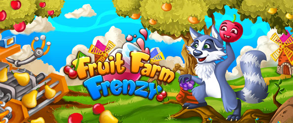 Fruit Farm Frenzy - Enjoy a new take on the match 3 game with cute fruits.