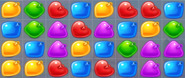 Water Splash - Enjoy a fun watery themed match 3 game free on Facebook.