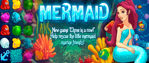 Mermaid - Help the Mermaid rescue her friends trapped in all the rubbish in the sea.