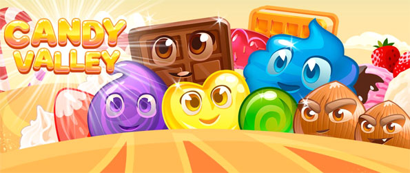 Candy Valley - Enjoy a sweet match 3 adventure full of color and fun.