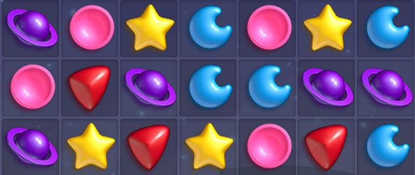 Tiny Planets - Enjoy an intergalactic match 3 game with lots of cute and fun levels.