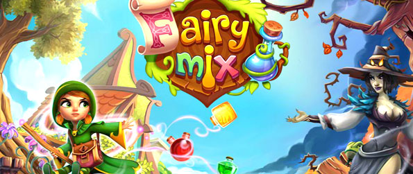 Fairy Mix - The magic moment has come! Play a fascinating magical adventure in a match-3 game and solve challenging puzzles in this wonderful Fairy Mix journey.