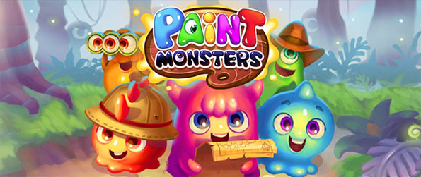 Paint Monsters - Enjoy a really cute swipe style match 3 game full of fun levels.