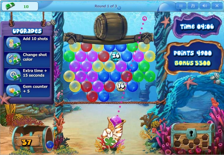 duell games bubble popp