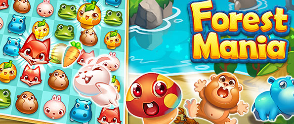 Forest Mania - Enjoy this simple and cute match 3 game and indulge over its lovely details and challenging levels.