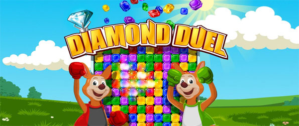Diamond Duel - Try a fun fast paced game and try your skills against people all over the world.