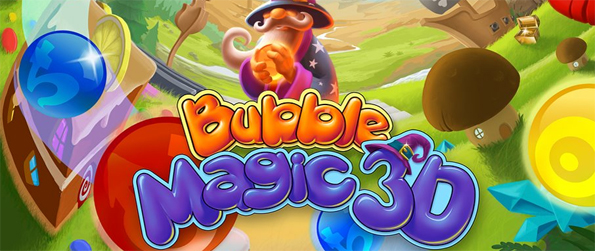 Bubble Magic 3D - Enter a World of 3D Bubble Shooting Magic!