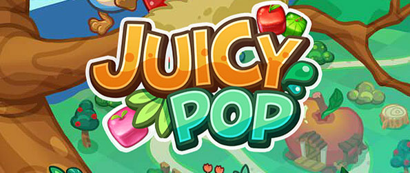 Juicy Pop - Play this beautiful match 3 game and build up affinity with the forest as its very own guardian on the way.