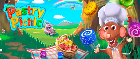 Pastry Picnic - Acquire pastries in this amazing match-3 experience with a really neat little twist.
