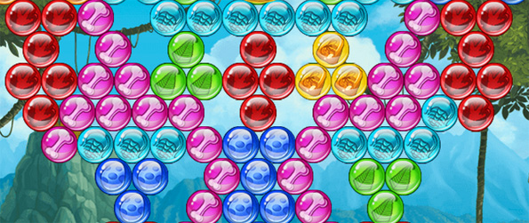 Bubble Chronicles - Travel through time on a rescue mission in this awesome Bubble Shooter Game