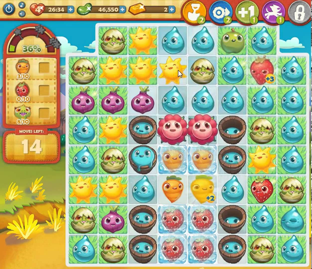 farm hero saga online game