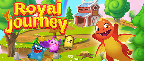 Royal Journey - Take part in a fascinating journey through magical worlds with the help of a little dragon in this brilliant match 3 adventure!