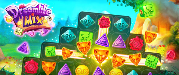 Dreamlike Mix - Enjoy a Fairytale Adventure and Magical Ride in a Stunning New Match 3 Game.