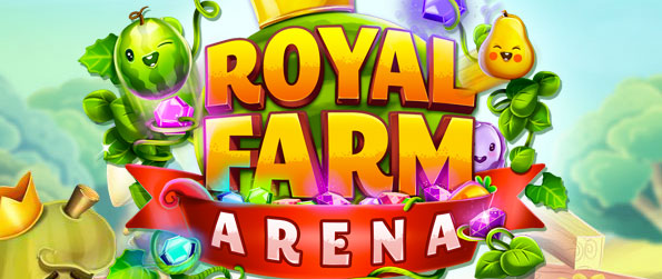 Royal Farm Arena - Play with friends in real time in this beautiful and challenging match-3 multiplayer game in Facebook.