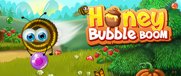 Honey Bubble Boom - Set off on a bubble bursting adventure with our cute animal friends to earn their treasure treats in this wonderful rendition of a bubble shooter game.