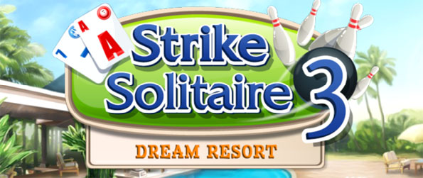 Strike Solitaire 3: Dream Resort - Bowling and Solitaire come together in this exciting Big Fish game.