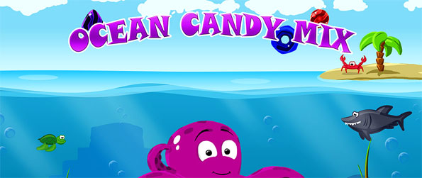Ocean Candy Mix - Play this fun filled connect-3 game that will take you to the deepest parts of the underwater world.