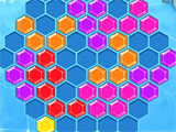 Hexa Fever: Colorful hexa-blocks