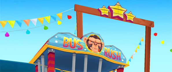 Bus Rush - Run as fast as you can to avoid the crazy gorilla that's chasing you in this high quality runner game.