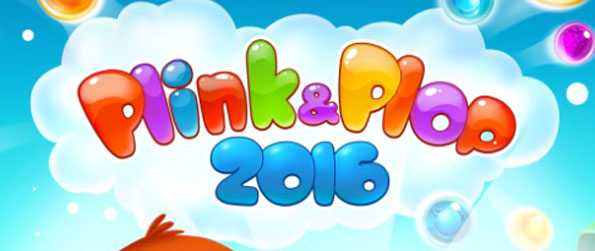 Plink & Plop 2016 - Use your ability to strategize and your geometry skills to blaze through the levels in this bubble shooter.