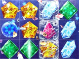 Frozen Free Fall: Shattering crystals