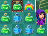 Rainbow potion in Hocus Puzzle
