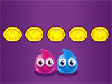 Jelly Survival: Collecting coins