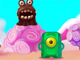 Defeat monsters in Best Candy Friends