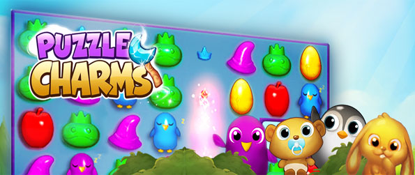 Puzzle Charms - Bring the magic back to fairyland and save it from the evil Rumplestiltskin with this magical Facebook Game.
