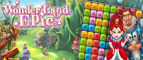 Wonderland Epic - Enjoy this amazing blocks match game for free on Facebook.