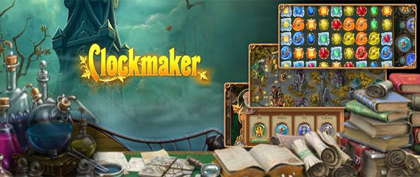 Clockmaker - Save your village with this amazing and beautiful Gem Match Game.